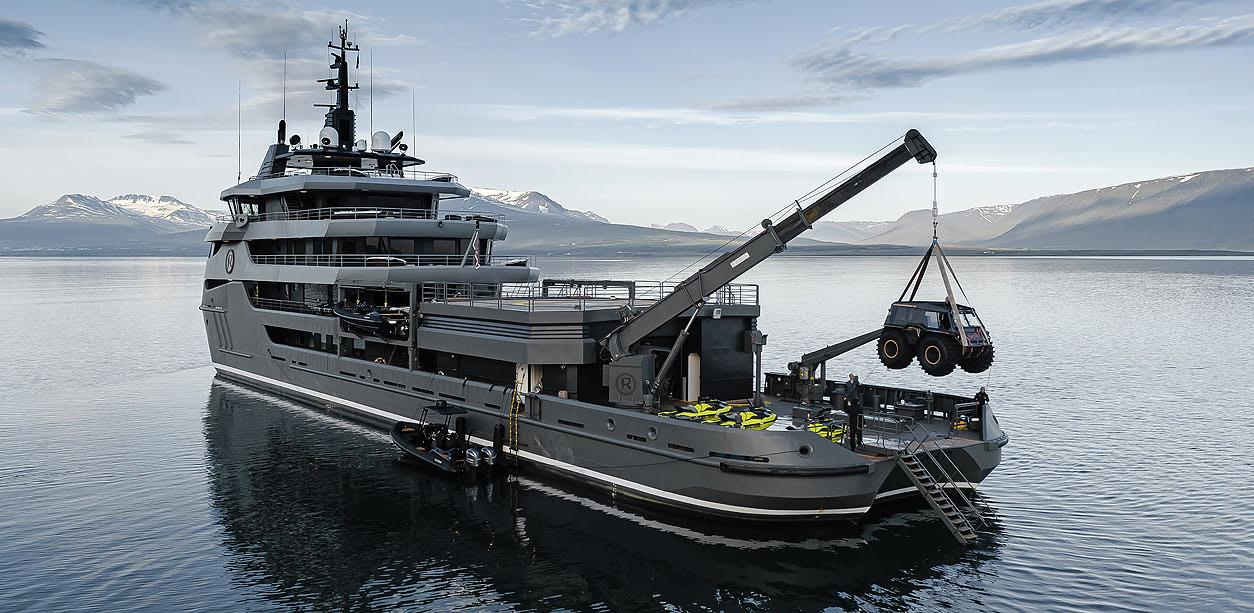 Яхта Ragnar