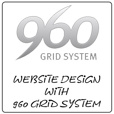 Website Design with 960 Grid System