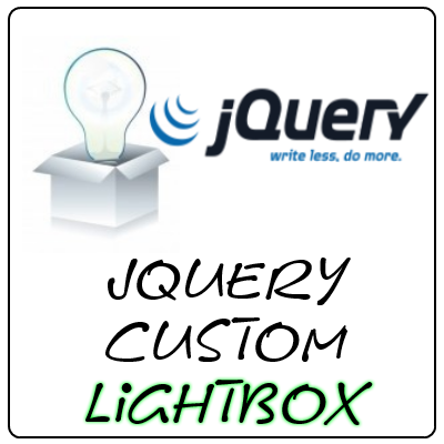 jQuery Tutorial: Build your own Light Box for your website