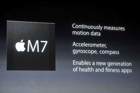 M7; the Motion Coprocessor