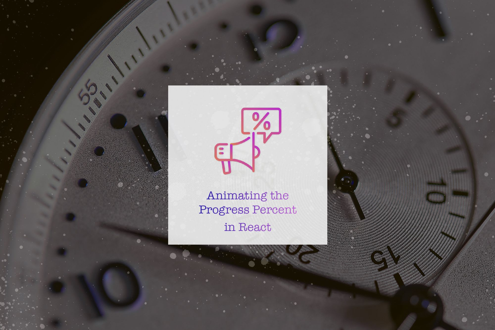 Animating the Progress Percent Change in React