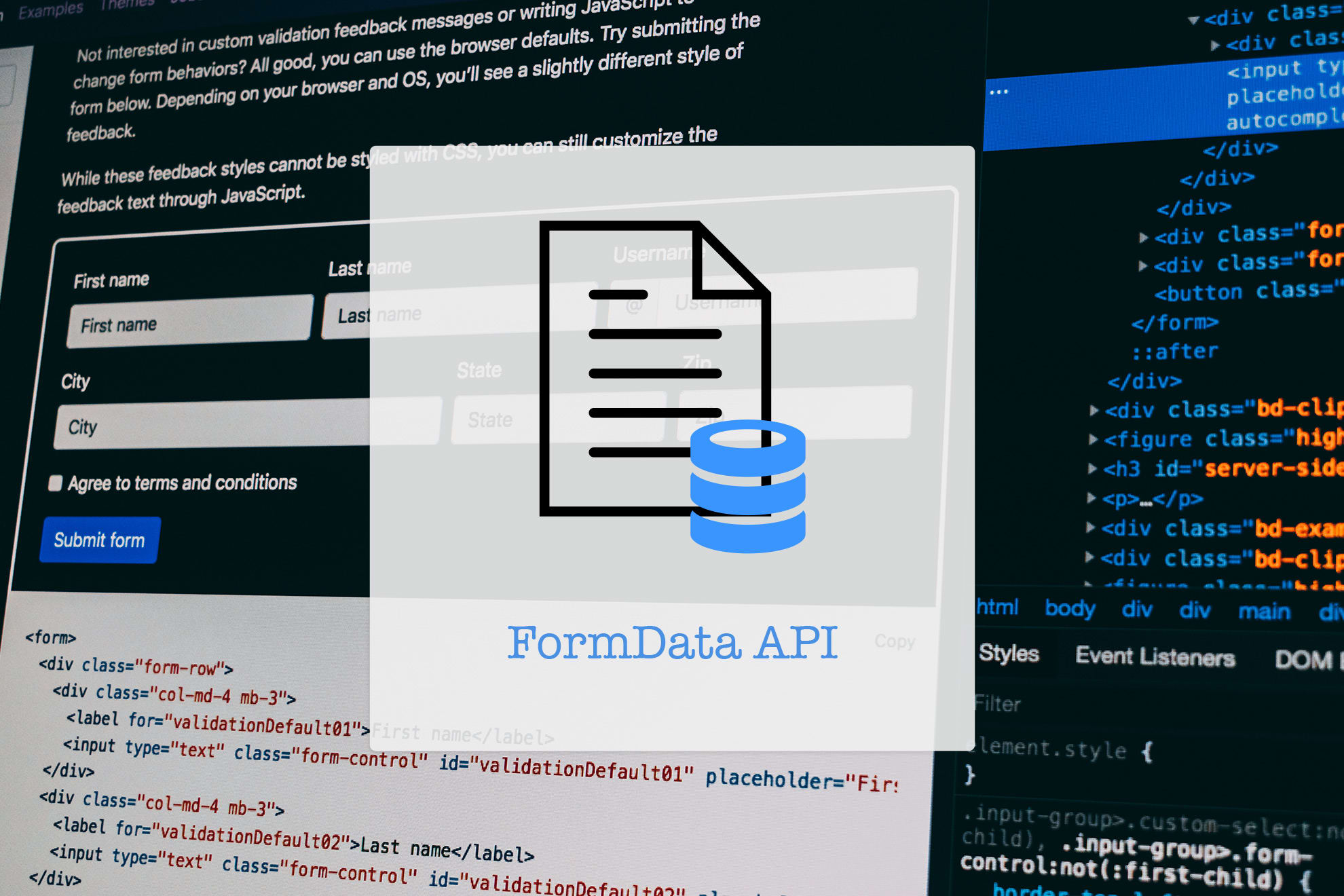 FormData API: Handle Forms like Boss 😎