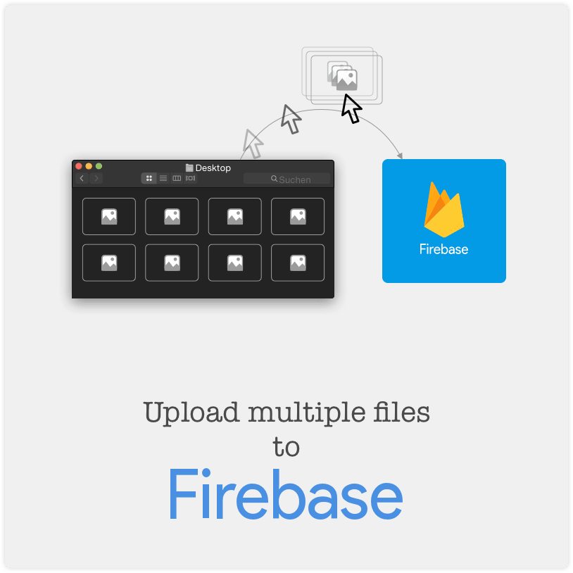 upload multiple files to firebase