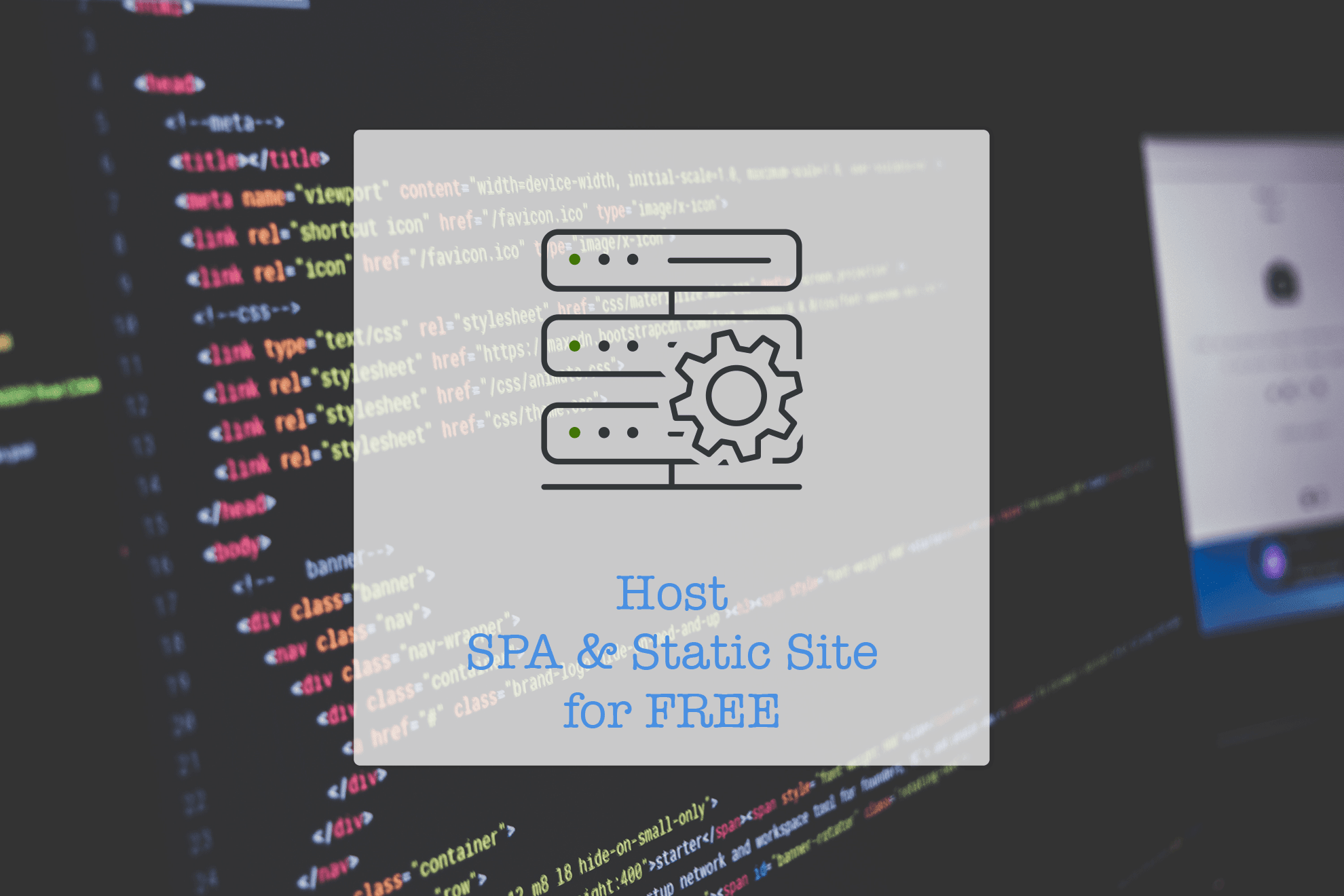 Ways to host single page application (SPA) and Static Site for FREE