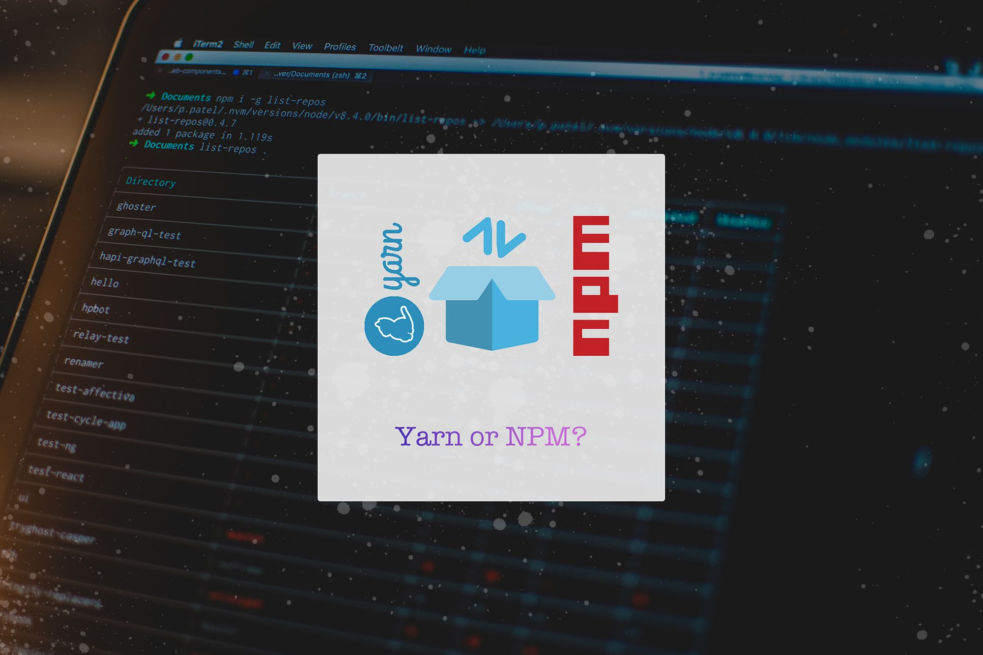 Yarn or npm: What's your preferred package manager?
