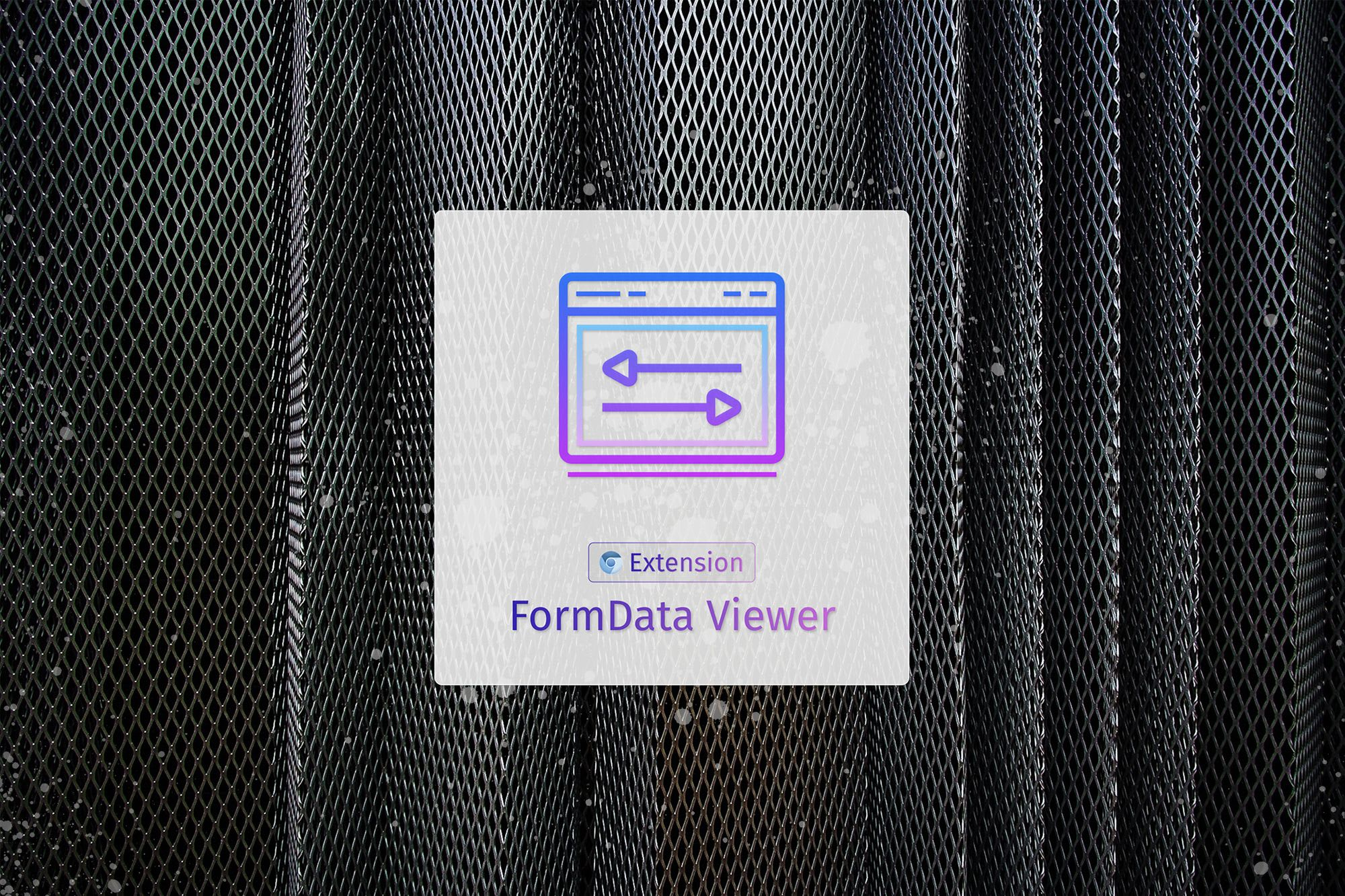 Introducing the FormData Viewer Extension