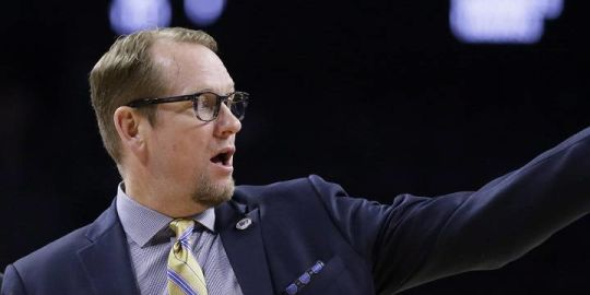 1st boss of new Raptors coach Nick Nurse says the team made the right move