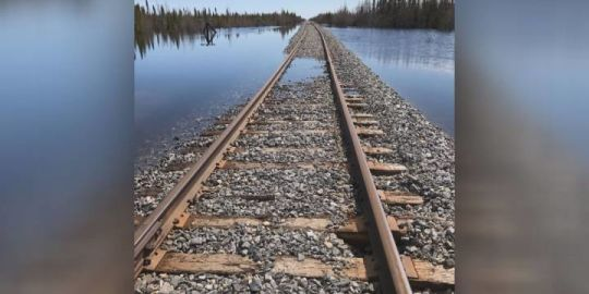 Federal regulators rule Omnitrax had duty to fix broken rail line to Churchill.