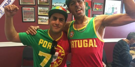Soccer fans in Calgary showcase World Cup pride cheering for favourite team
