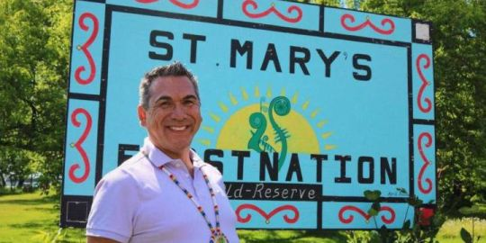 Two-spirited N.B. First Nation chief says his election points to progress
