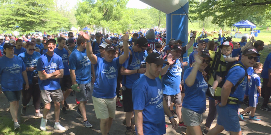 Father's Day Walk of Courage raises awareness and money for prostate cancer research