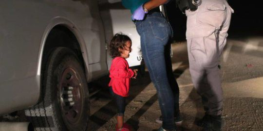 Viral photos capture the plight of child migrants at U.S.-Mexico border