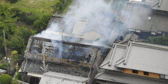Earthquake strikes Osaka in western Japan, elderly man and young girl killed