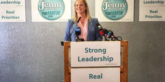 Winnipeg mayoral candidate focusing on 3 'urgent' priorities