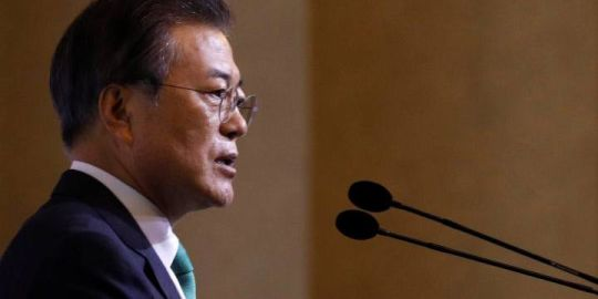 South Korean president warns Trump, Kim over lack of progress in nuclear talks