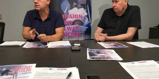 CUPE warns of bed loses, job cuts at Peterborough hospital if Ford follows through on campaign promises
