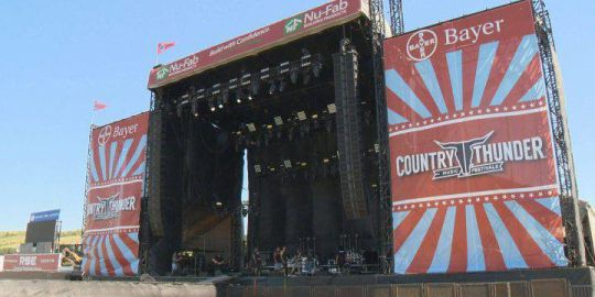 RCMP stop 270 vehicles on to start Country Thunder, issue 66 charges