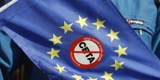 Italy says it won't ratify Canada-EU trade deal