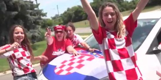 Croatia fans in Mississauga get ready for Sunday's World Cup final