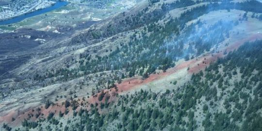 Kalmloops wildfire still classified as 'out of control'