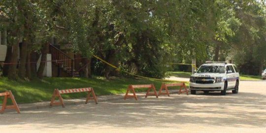 Prince Albert police treating body found in yard as suspicious death