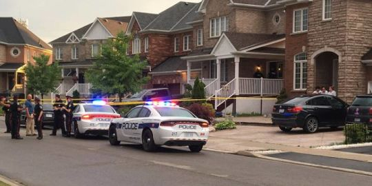 2 arrested, 2 more sought after fatal shooting in Brampton