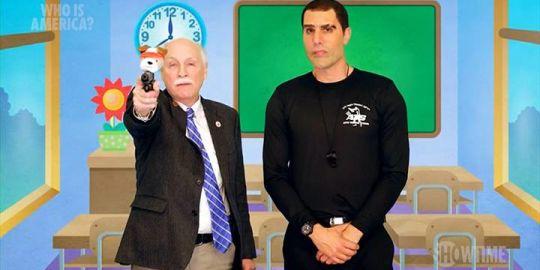 U.S. politician denounces Baron Cohen's televised guns prank as 'sick fraud'