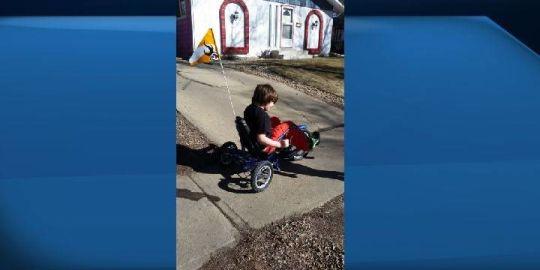 St. Albert boy's specialty bike returned home
