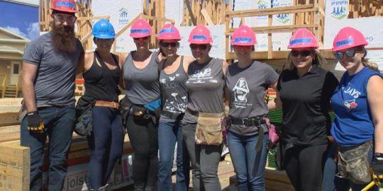 Global Saskatoon rolls up sleeves to help Habitat for Humanity Women's Build