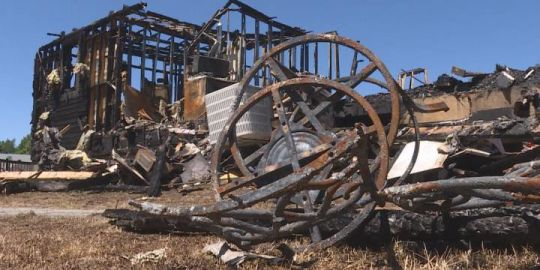 Kanesatake vows to rebuild after fire claimed youth centre July 8