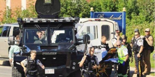 Alleged Fredericton gunman shot in abdomen, court documents show