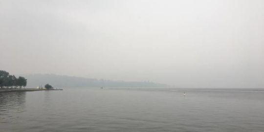 Smoky skies on the horizon: Okanagan's air quality remains at a very high risk