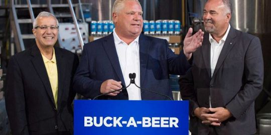 Will policies like Doug Ford's 'buck-a-beer' help brew political support? Unlikely, new poll suggests