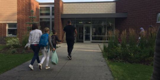 Back in the classroom for Edmonton's year-round students