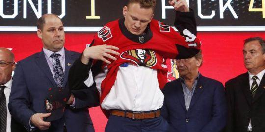 Senators sign forward Brady Tkachuk to three year, entry level contract