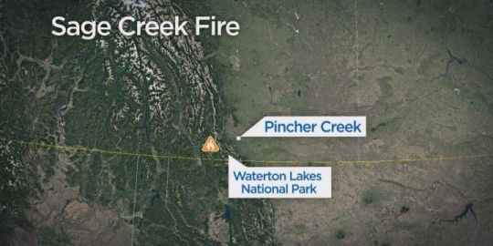 Sage Creek wildfire now 3 kilometres from Alberta border: officials
