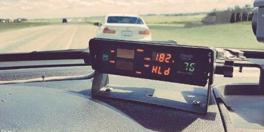 Manitoba RCMP nab speeder going 182 km/h with baby, toddler in back seat