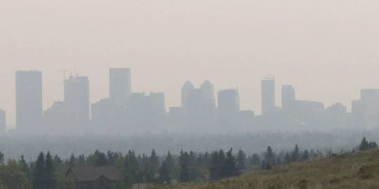 More B.C. wildfire smoke prompts new Alberta air quality advisories