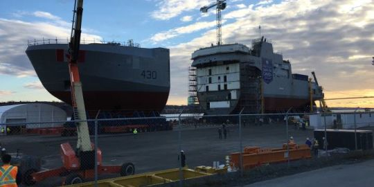Ottawa reaffirms role of Halifax Shipyard in national shipbuilding strategy after company 'concerned' over remarks
