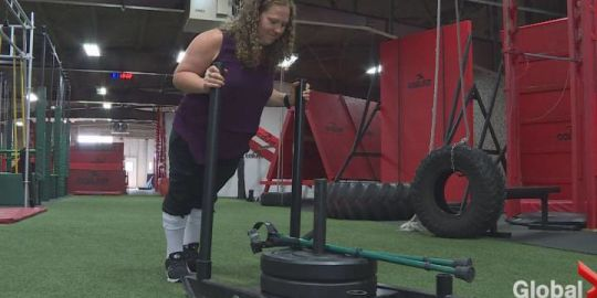 Calgary woman finding her inner warrior and inspiring others to find theirs