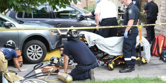 Boy rescued after being trapped under vehicle in Oakville