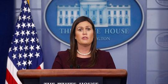 Sarah Sanders walks back claim Donald Trump created more jobs for African-Americans than Obama