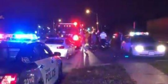 Man in life-threatening condition after drive-by shooting in Toronto's west end