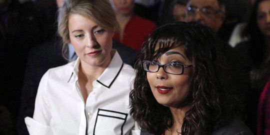 Liberal MP Iqra Khalid under fire from Jewish group for giving award to purveyor of anti-Semitism