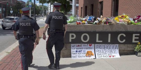 Public visitation set for police constables killed during Fredericton shooting