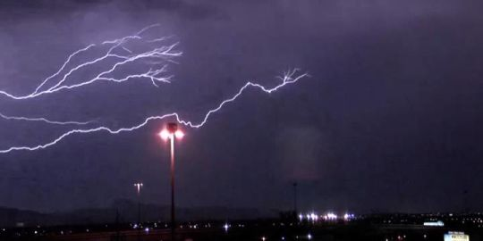 No one injured after lightning strikes western New Brunswick home