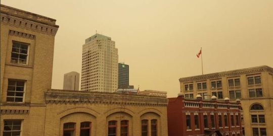 In Pictures: Haze over Southern Manitoba