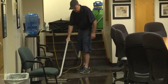 Queen's University and Kingston businesses cleaning up after flooding