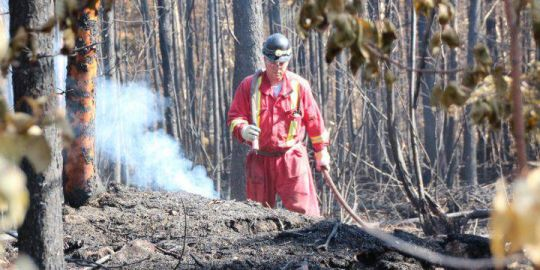 Saskatchewan providing wildfire help to B.C., Ontario