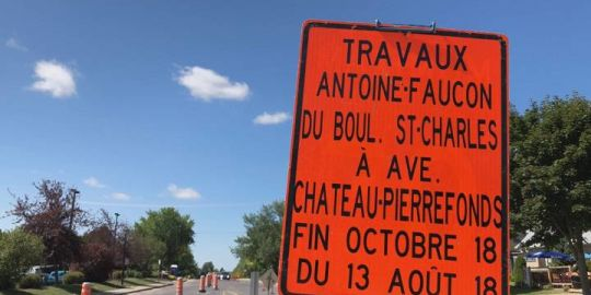 Pierrefonds residents brace for upcoming construction, road closures
